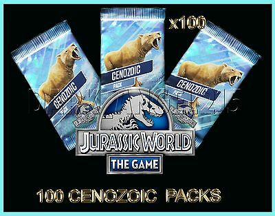 Jurassic WORLD The Game Builder 100 CENOZOIC packs Android iOS park