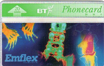 BTM024  Emflex  * BT No Control Phonecard (L&G) cat £75