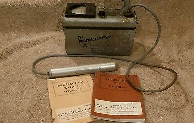 The Radiac Co, Inc. The Prospectometer - Geiger Counter