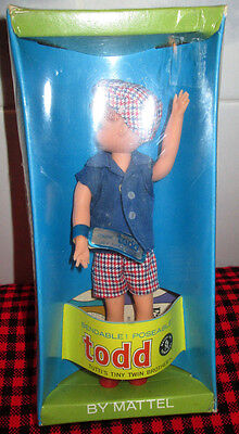 1967 Vtg.new+Factory Sealed~Original*todd*doll~3590~Complete+Mint~Nrfb~Wrist Tag