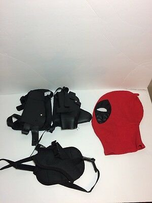 Deadpool Mask And Joker GunHolsters
