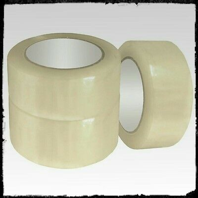 6 Rolls of Clear Packing Tape
