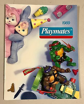 1989 Playmates TMNT Teenage Mutant Ninja Turtles Dealer Toy Catalog RARE!