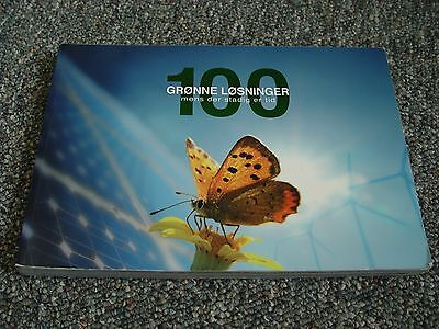 """""""100 Green Solutions While We Still Have Time"""" Paperback Book in Danish. Rare!"""