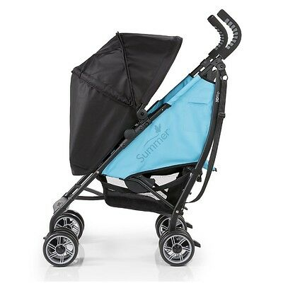 3D Flip Convenience Stroller, Now & Then Teal - 32053