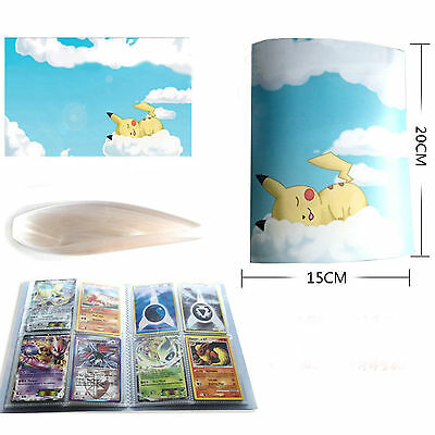 Pokemon Cards Album Folder Book List Collectors 112Cards Capacity Holder 14 Page