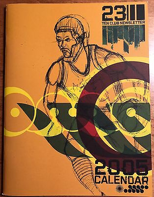 Pearl Jam 2005 Tour Calendar 23 Ten Club Newsletter - Fan Magazine Booklet