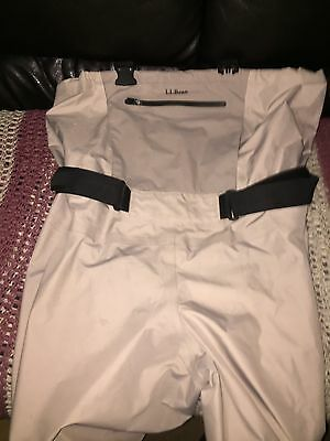 L.L.Bean Chest Waders with 400 Thinsulate Boots Size 12 Men's Xl Ll Bean