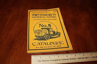 Vintage Book 1970s MOTHER'S GENERAL STORE Catalog Flat Rock, NC  FREE SHIPPING