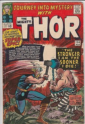 JOURNEY INTO MYSTERY! #114! The Mighty Thor!