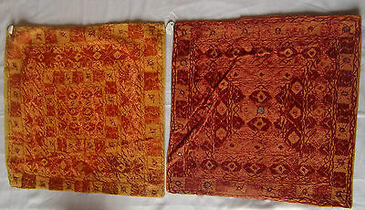 Beautiful Handmade Old Vintage Patch Work Cushions/pillow Cover India Fine Art 8