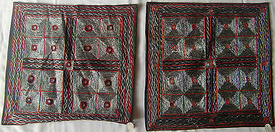 Beautiful Handmade Old Vintage Patch Work Cushions/pillow Cover India Fine Art11
