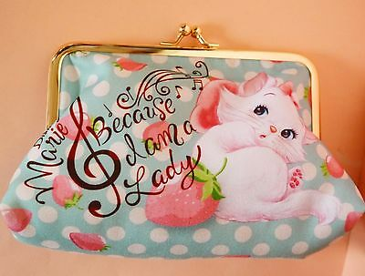 Disney Store Marie Aristocats Small purse cosmetic bag pencil case Japan new