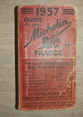 Guide Rouge Michelin 1957