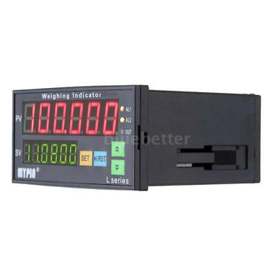 Digital Weighing Weight Controller Load-cell Indicator 6 Digits LED Display P4U4