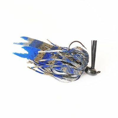 BBCB Custom Bass Jig Textured Skirt 15g - Black Bass Custom Baits