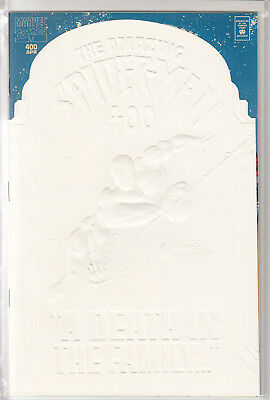 Amazing Spider-Man 400 White Die-Cut Variant (embossed) (NM)
