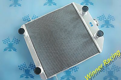 Fit Ford/Mercury Car W/FLATHEAD V8 1939-1941 aluminum radiator 56mm