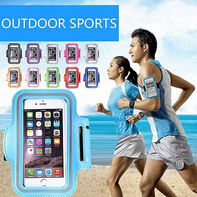 For iPhone 7 Plus 6 6S Armband Case Sports GYM Running Exercise Arm Band Holder
