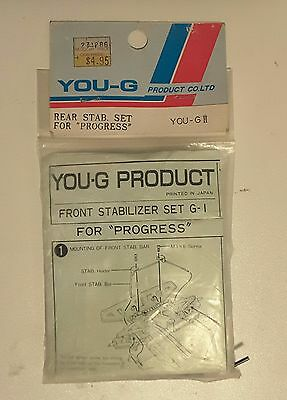 YOU-G rear stabiliser for Kyosho Progress and Gallop