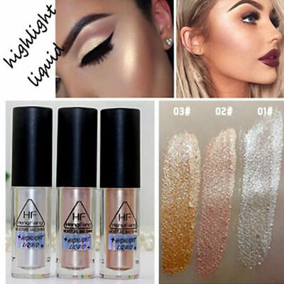3 Colors Makeup Highlighter Liquid Cosmetic Face Contour Brightener Shimmer