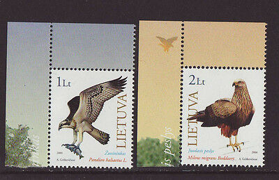 Lithuania 2000 MNH - Birds - set of two stamps