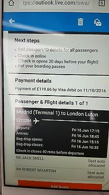 plane tickets to Spain