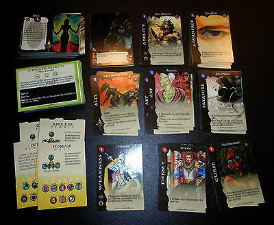 Arcadia The Wyld Hunt Lot White Wolf Fantasy Card Game Gcc Waylay Quest