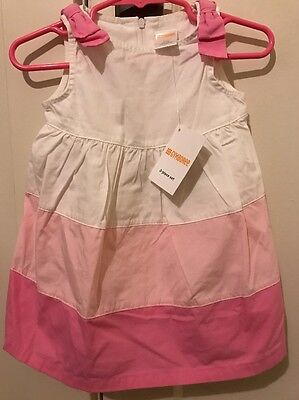 Gymboree Baby Girl Pink Dress Size 3-6M New NWT