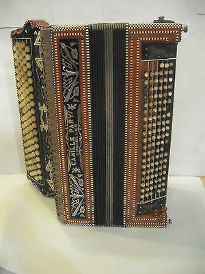 Accordeon Fisarmonica antica Anni 30 Camille Parys