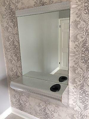Hairdressing Mirror/ Styling Station