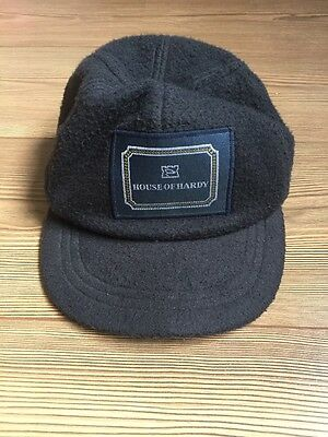 House Of Hardy Navy Fleece Fishing Cap *NEW*