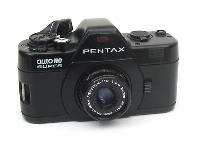 Pentax Auto 110 Super with Pentax 24mm f2.8 Lens