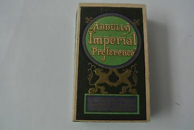 Abdulla Imperial 10 Size Cigarette Packet