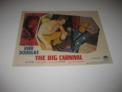 Ace in the Hole AKA The Big Carnival 1951 Kirk Douglas Billy Wilder Dir Orig LC