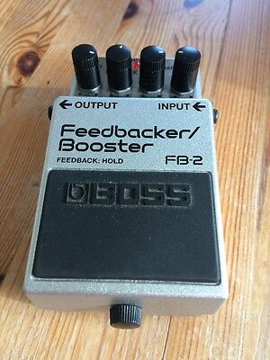 Boss FB-2 Feedback/Booster Guitar Effects Pedal