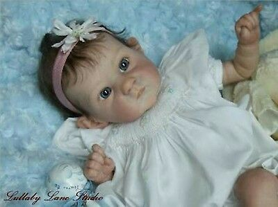 Reborn Doll Kit * Pixie * by Bonnie Brown. Plus Glass Eyes, Neck Ring and Plug.