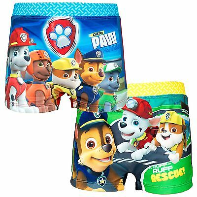 Official PAW PATROL boys Swim Swimming BOXERS Shorts Briefs Trunks 2-6 years NEW