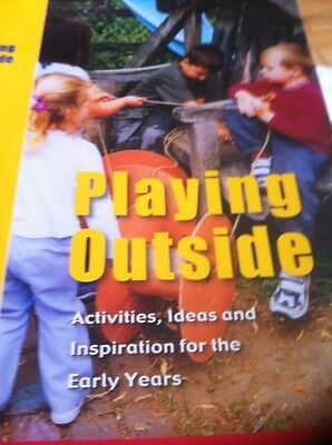Playing Outside Activites, Ideas and Inspiration for the Early Years