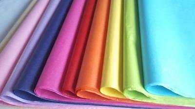 QUALITY TISSUE PAPER SHEETS 50 x 75 cm - gift wrap, hampers flowers acid free