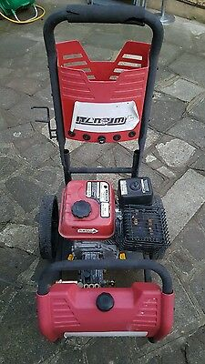 petrol powered high pressure cleaner