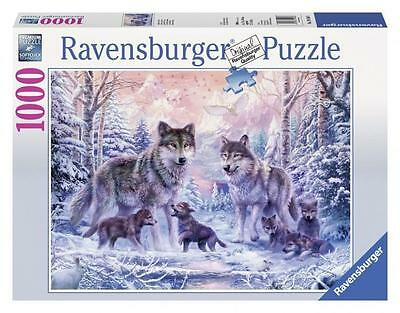 Ravensburger 19146 High Quality Arctic Wolves 1000 Pieces Jigsaw Puzzle Game