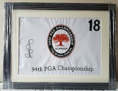 Rory McIlroy signed 94th PGA championship 18th flag Ocean Course Kiawah