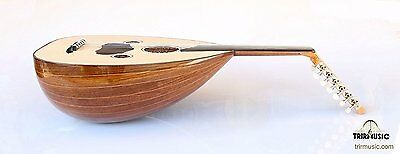 Turkish Quality Walnut String Instrument Oud Ud AO-107G
