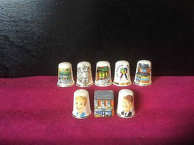 Thimbles Coronation St Collectable.china.deirdre Barlow Curly Watts,alfs Shop.