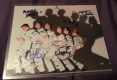 Madness Waiting For The Ghost Train Picture Disc Signed By 6 Members Of Madness
