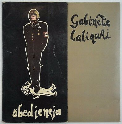 GABINETE CALIGARI – Obediencia 45RPM Spain 1982 New Wave 3 CIPRESES VG+/VG+