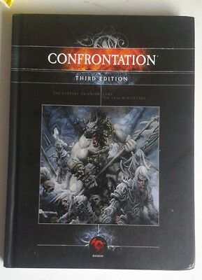 confrontation core rules fantasy battles mass skirmish 3rd edition 3E book