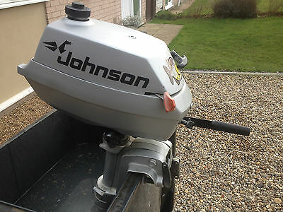 Johnson 4hp 2 Stroke Outboard