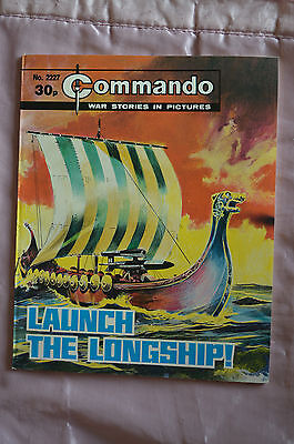 LAUNCH THE LONGSHIP! No 2227 -  COMMANDO COMIC WAR STORIES IN PICTURES